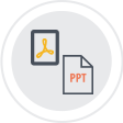 PDF and PPT
